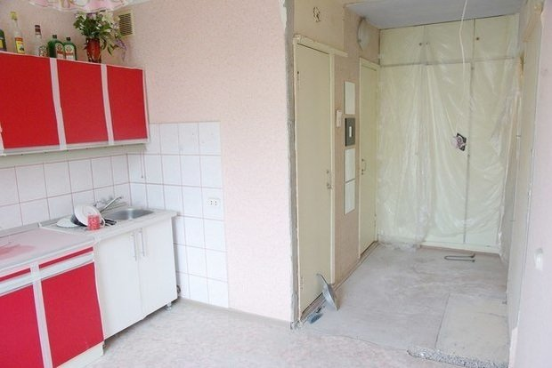 Фотография: Прочее в стиле , Малогабаритная квартира, Квартира, Индустрия, События – фото на InMyRoom.ru