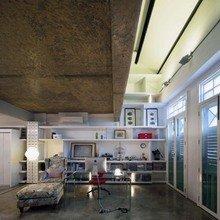 Фотография: Кабинет в стиле Эклектика, Квартира, Дома и квартиры, Лестница – фото на InMyRoom.ru
