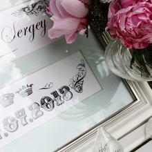 Фотография: Аксессуары в стиле Классический, Современный, Декор интерьера, Праздник, Декор свадьбы, Картина – фото на InMyRoom.ru