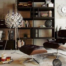Фотография: Декор в стиле Современный, Эклектика, Стиль жизни, Советы, Торшер – фото на InMyRoom.ru