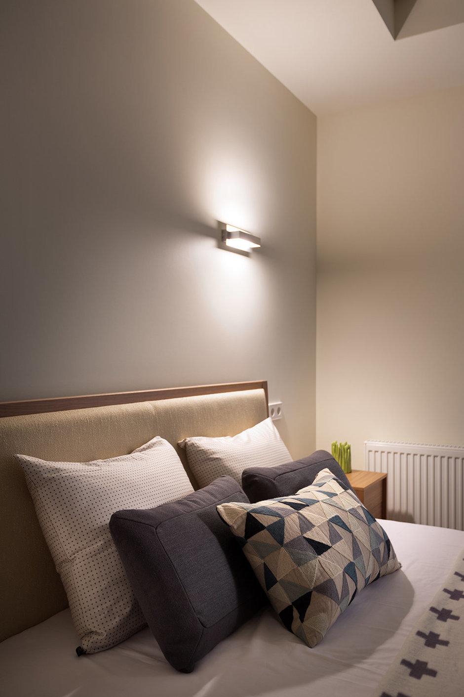 Фотография: Спальня в стиле Современный, Декор интерьера, Квартира, Normann Copenhagen, Vitra, Дома и квартиры, Проект недели, SLV – фото на InMyRoom.ru