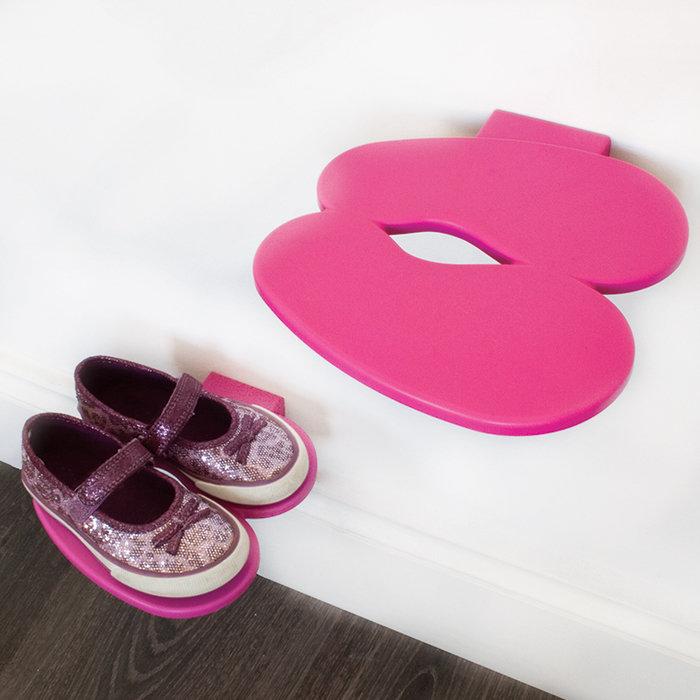 Полка для обуви J-me footprint розовая