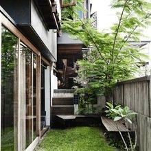 Фото из портфолио Модернизированный бревенчатый дом – фотографии дизайна интерьеров на InMyRoom.ru