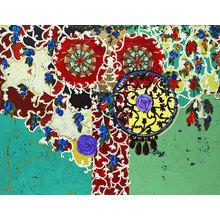 Картина (репродукция, постер): Succulent Eggplants - Биатрис Милхейзис