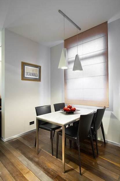 Фотография: Кухня и столовая в стиле Минимализм, Декор интерьера, Квартира, Мебель и свет, Цвет в интерьере, Дома и квартиры – фото на InMyRoom.ru