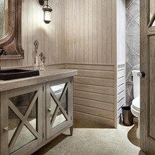 Фотография: Ванная в стиле Кантри, Современный, Классический, Дом, Дома и квартиры, Шебби-шик, Индустриальный, Техас – фото на InMyRoom.ru