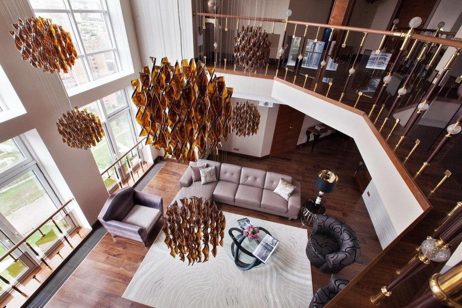 Фотография: Мебель и свет в стиле , Квартира, Италия, Дома и квартиры, Пентхаус, Люстра, Ар-деко – фото на InMyRoom.ru