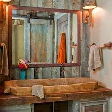 Фотография: Ванная в стиле Кантри, Стиль жизни, Советы, Эко – фото на InMyRoom.ru