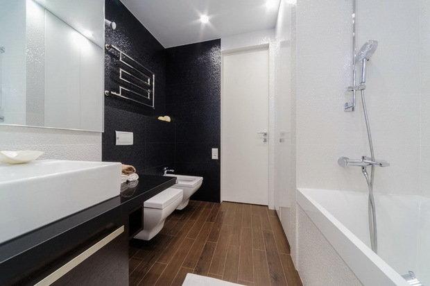 Фото из портфолио Реализованный проект квартиры – фотографии дизайна интерьеров на INMYROOM