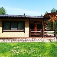 Фото из портфолио Дома из деревянного кирпича – фотографии дизайна интерьеров на INMYROOM