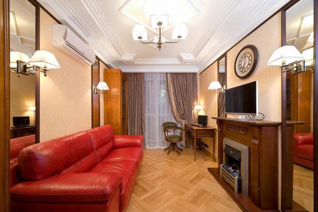 Фото из портфолио Квартира в стиле Ар-деко – фотографии дизайна интерьеров на INMYROOM