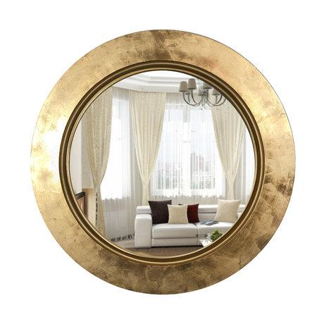 Настенное зеркало Fashion Elegant цвета золота — купить по цене 22880 руб в Москве | фото, описание, отзывы, артикул IMR-1152607 | Интернет-магазин INMYROOM
