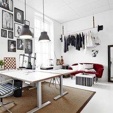 Фото из портфолио Невероятная творческая студия в Швеции.   – фотографии дизайна интерьеров на InMyRoom.ru