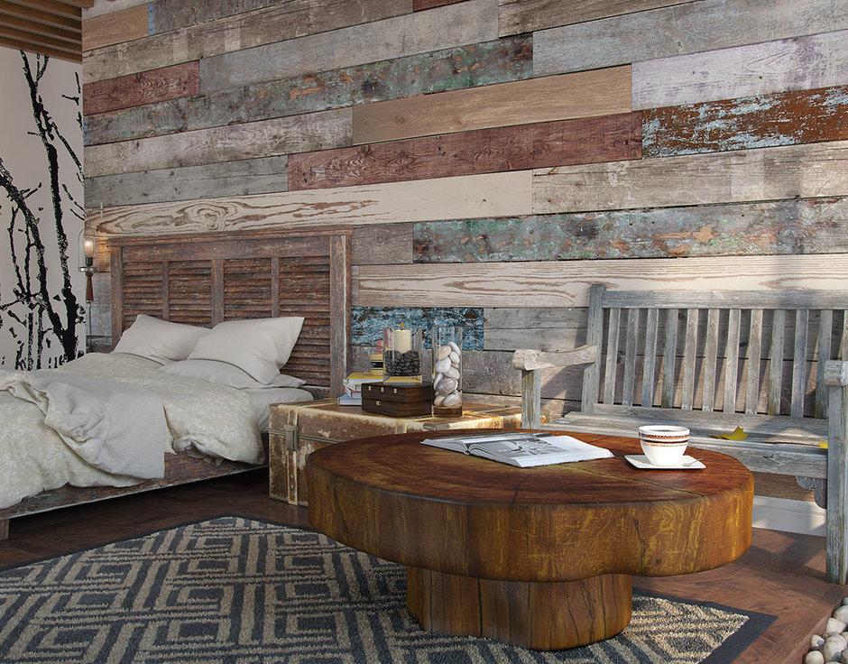 Фотография: Спальня в стиле Лофт, Декор интерьера, Квартира, Foscarini, Restoration Hardware, Дома и квартиры, IKEA, Проект недели – фото на InMyRoom.ru