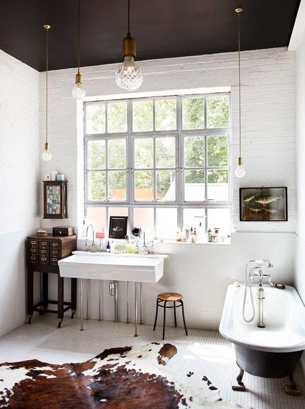 Фотография: Ванная в стиле Лофт, Скандинавский, Декор интерьера, Квартира, Декор, Советы, раковина, раковина в ванной – фото на InMyRoom.ru
