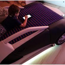 Фото из портфолио Уникальная детская кровать-машина BugaTTi Veyron от R.O.M.-Dekor – фотографии дизайна интерьеров на InMyRoom.ru