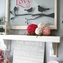 Фотография: Декор в стиле Кантри, Скандинавский, Декор интерьера, Праздник, День святого Валентина – фото на InMyRoom.ru