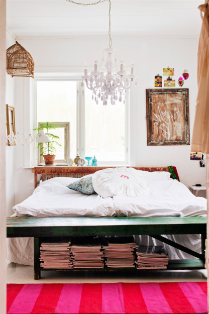 Фотография: Спальня в стиле Скандинавский, Дом, Швеция, Дома и квартиры – фото на InMyRoom.ru