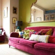 Фотография: Гостиная в стиле Восточный, Декор интерьера, Дизайн интерьера, Цвет в интерьере – фото на InMyRoom.ru