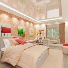 Фото из портфолио Проект 3-комнатной квартиры в современном стиле – фотографии дизайна интерьеров на InMyRoom.ru