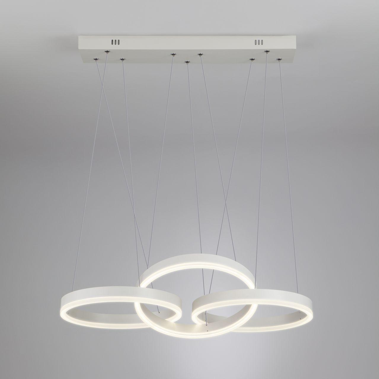 Купить Подвесной светодиодный светильник с пультом ду Eurosvet Integro, inmyroom, Россия