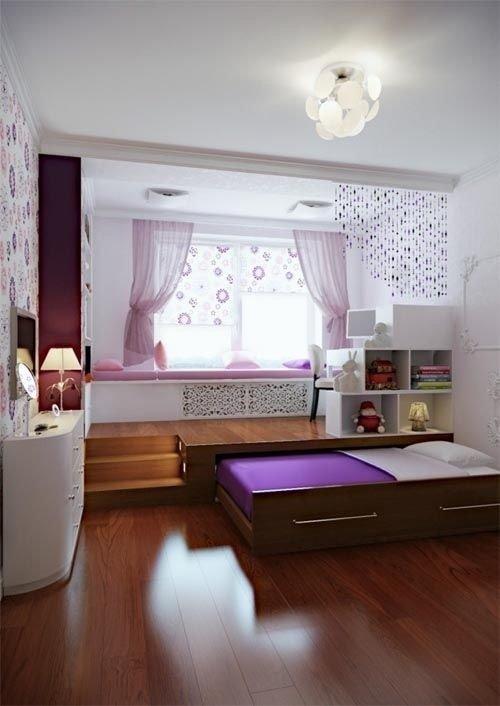 Фотография: Детская в стиле Современный, Советы, Бежевый, Серый, Мебель-трансформер, кровать-трансформер, диван-кровать – фото на InMyRoom.ru
