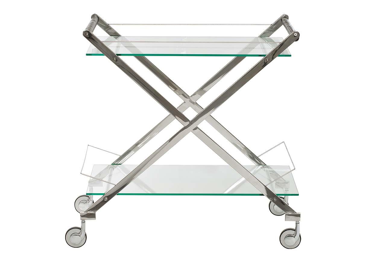 Купить со скидкой Сервировочный столик на колесиках