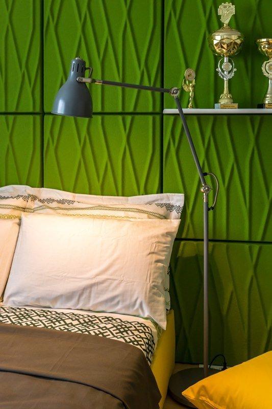 Фотография: Спальня в стиле Современный, Скандинавский, Декор интерьера, Квартира, Интерьер комнат – фото на InMyRoom.ru