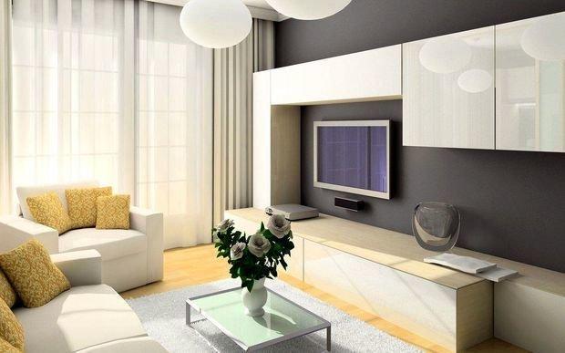 Фотография: Гостиная в стиле Современный, Декор интерьера, Квартира, Дом, Декор, Советы – фото на InMyRoom.ru