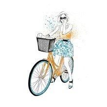 Принт Bike A2