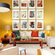 Фотография: Гостиная в стиле Кантри, Современный, Декор интерьера, Декор дома, Цвет в интерьере – фото на InMyRoom.ru