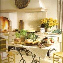 Фотография: Кухня и столовая в стиле Кантри, Декор интерьера, Дом, Франция, Декор дома, Советы, Прованс – фото на InMyRoom.ru