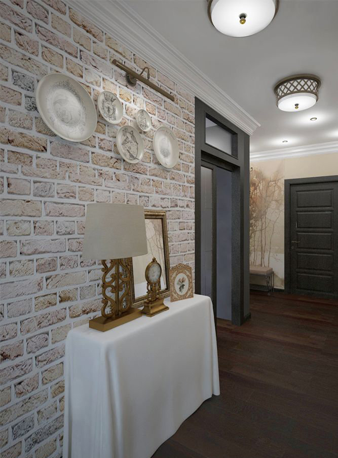 Фотография: Прихожая в стиле Прованс и Кантри, Эклектика, Классический, Квартира, Проект недели – фото на InMyRoom.ru