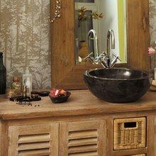 Фотография: Ванная в стиле Кантри, Современный, Интерьер комнат, Teak House, Эко – фото на InMyRoom.ru
