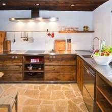 Фотография: Кухня и столовая в стиле Кантри, Дизайн интерьера – фото на InMyRoom.ru