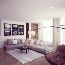 Фото из портфолио Современная квартира в Москве – фотографии дизайна интерьеров на InMyRoom.ru