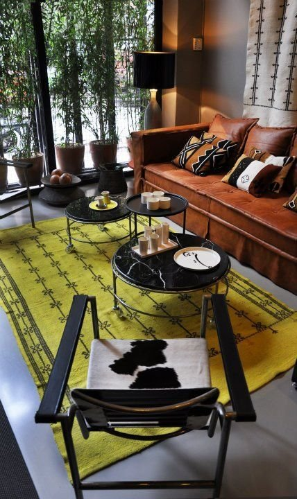 Фотография: Гостиная в стиле Современный, Декор интерьера, Декор дома, Цвет в интерьере – фото на InMyRoom.ru