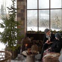 Фотография:  в стиле Кантри, Современный, Дом, Дома и квартиры, Архитектурные объекты – фото на InMyRoom.ru