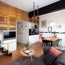 Фотография: Кухня и столовая в стиле Скандинавский, Декор интерьера, Малогабаритная квартира, Квартира, Студия, Планировки, Декор – фото на InMyRoom.ru