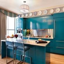 Фотография: Кухня и столовая в стиле Кантри, Современный, Декор интерьера, Дизайн интерьера, Цвет в интерьере, Dulux, Akzonobel – фото на InMyRoom.ru