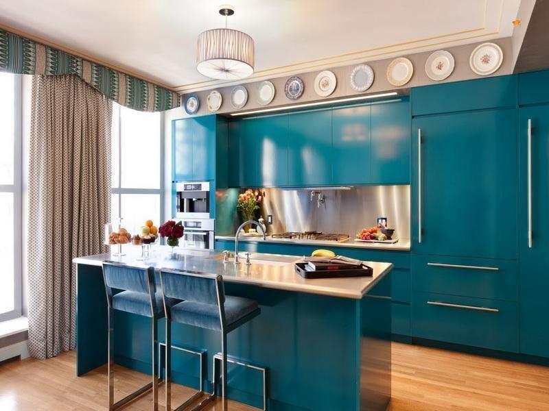 Фотография: Кухня и столовая в стиле Прованс и Кантри, Современный, Декор интерьера, Дизайн интерьера, Цвет в интерьере, Dulux, Akzonobel – фото на InMyRoom.ru