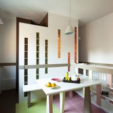 Фотография: Кухня и столовая в стиле Современный, Малогабаритная квартира, Квартира, Франция, Планировки, Дома и квартиры, Париж – фото на InMyRoom.ru