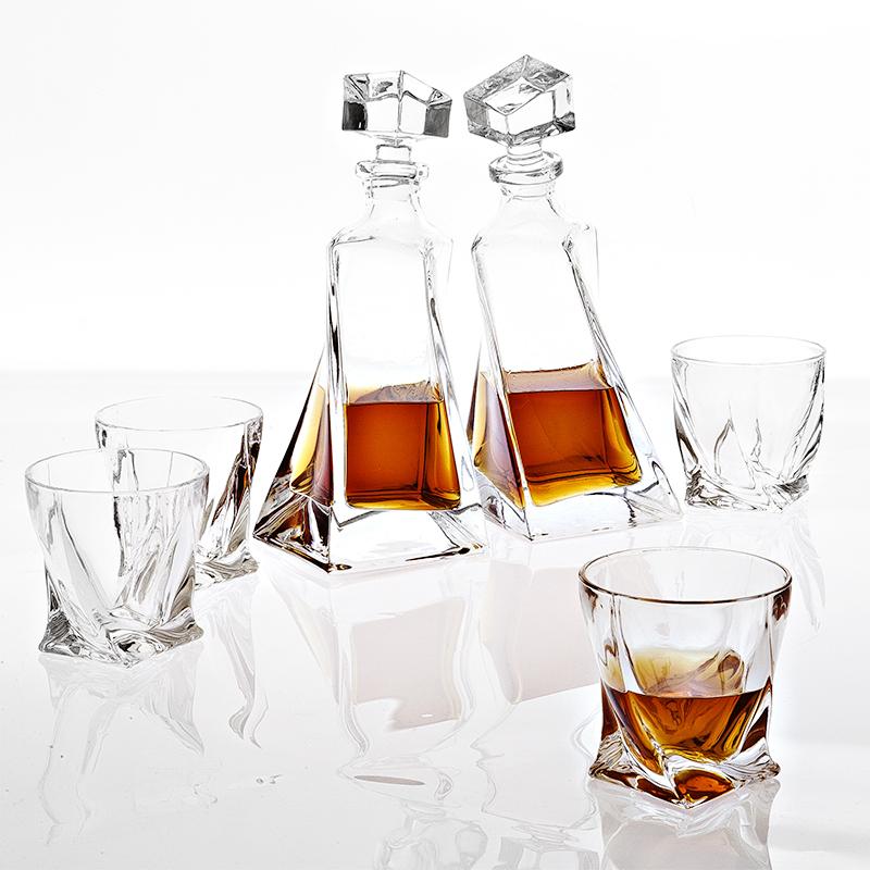 Набор Eichholtz Decanter Sapphire Set of 6 для спиртного