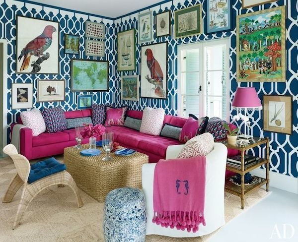 Фотография: Гостиная в стиле Восточный, Эклектика, Декор интерьера, Декор дома, Плетеная мебель – фото на InMyRoom.ru