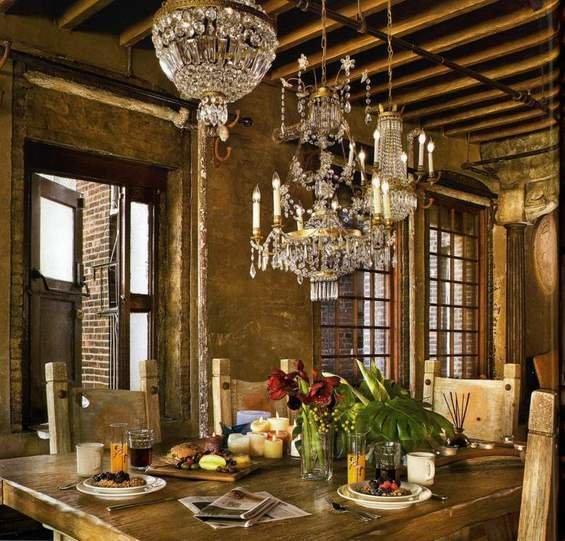 Фотография: Кухня и столовая в стиле Прованс и Кантри, Лофт, Декор интерьера, Квартира, Дома и квартиры, Интерьеры звезд – фото на InMyRoom.ru