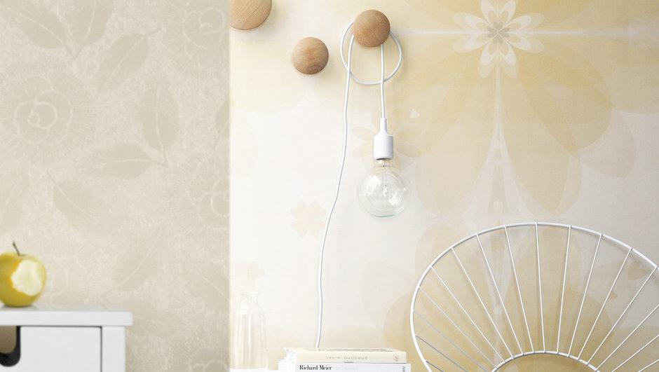 Фотография: Декор в стиле , Декор интерьера, Дизайн интерьера, Цвет в интерьере, Обои, Стены, Эко – фото на InMyRoom.ru