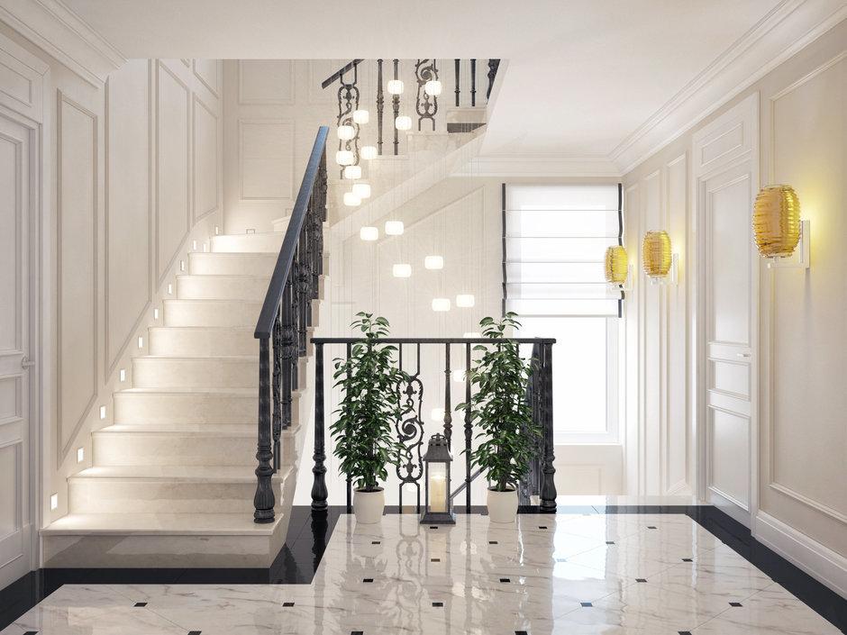 Фотография:  в стиле Современный, Декор интерьера, Дом, Artemide, Vistosi, Дома и квартиры, Проект недели, Ideal Lux, Таунхаус – фото на InMyRoom.ru