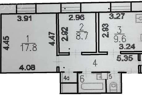 Помогите сделать планировку узкой вытянутой квартиры с очень высокими потолками