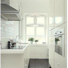 Фотография: Кухня и столовая в стиле Скандинавский, Малогабаритная квартира, Советы – фото на InMyRoom.ru