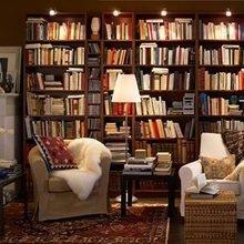 Фотография: Кабинет в стиле Кантри, Декор интерьера, Декор дома, Полки, Библиотека – фото на InMyRoom.ru